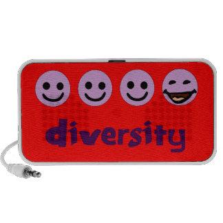 Diversity Purps Doodle Speakers