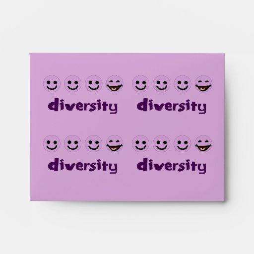 Diversity Purps Envelope