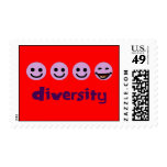 Diversity Purps Postage