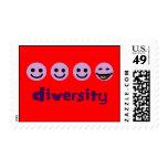 Diversity Purps Postage