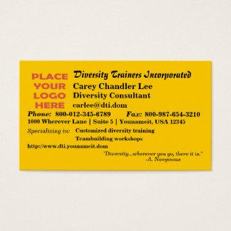 Diversity (Rainbow) Business Card