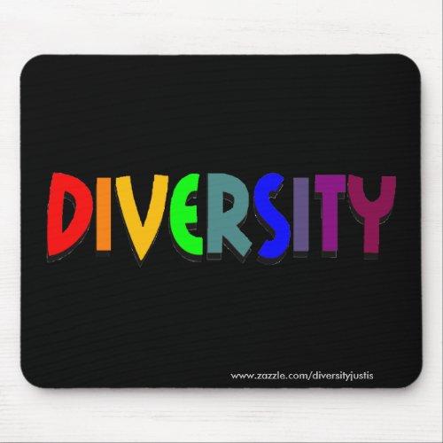 Diversity (Rainbow) Mousepad (horizontal style)