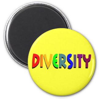 Diversity (Rainbow) Round Magnet