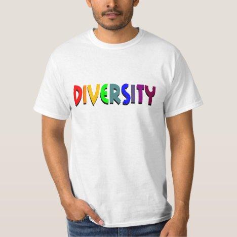 Diversity Rainbow Value Tee