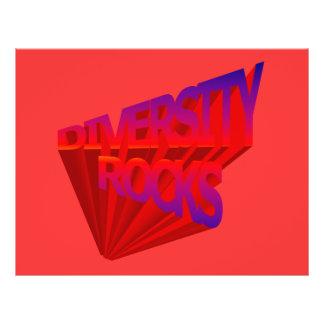 Diversity Rocks Flyer Template