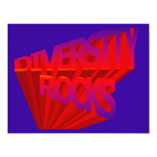 Diversity Rocks Invitation
