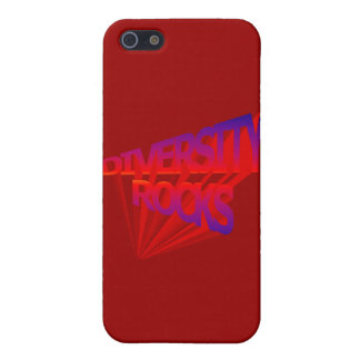 Diversity Rocks Speck Case Cover For iPhone 5/5S