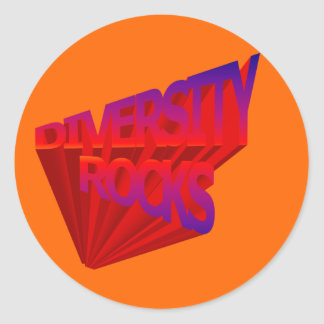 Diversity Rocks Stickers