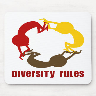 Diversity Rules Mousepad