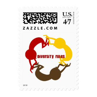 Diversity Rules Postage