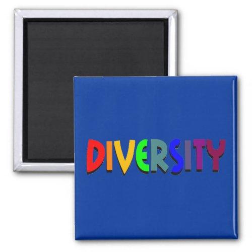 Diversity Square Magnet