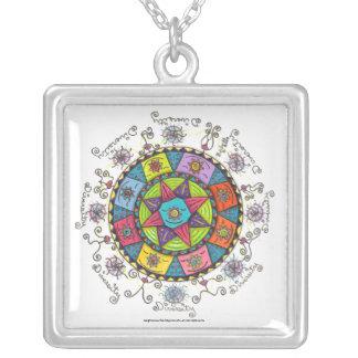 Diversity - Square necklace