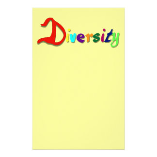 Diversity Stationery