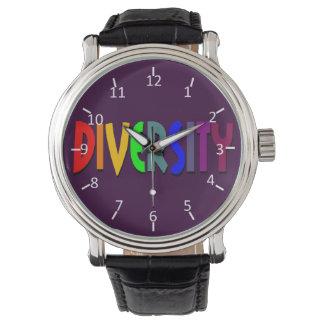 Diversity Time Wristwatches