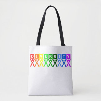 Diversity United Colorful Symbol Tote Bag