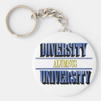 Diversity University (Alumnus) Keychain