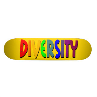 Diversity (Yellow Gold) Skateboard
