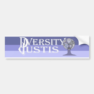 DiversityJustis Bumper Sticker
