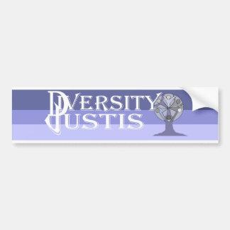 DiversityJustis Bumper Sticker