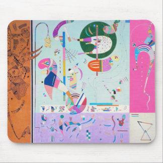Diverso cojín de ratón de las piezas de Kandinsky Tapete De Ratones