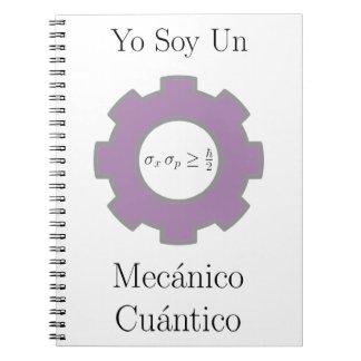 diverso, cuántico del mecánico de la O.N.U de la s Libro De Apuntes Con Espiral