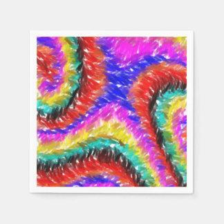 diverso modelo colorido servilletas desechables