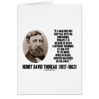 Diverso paso del batería de Thoreau a la música Felicitacion