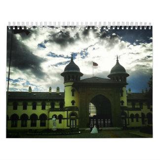 Diversos lugares en Balcans. Calendario De Pared
