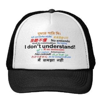 ¡Diversos productos de la lengua - no entiendo! Gorro