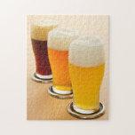 Diversos tipos de cerveza puzzles