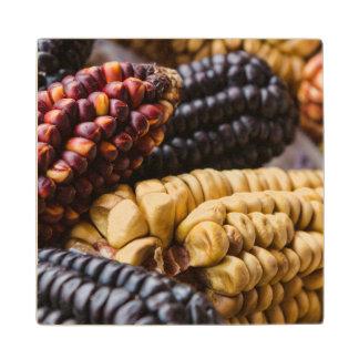 Diversos tipos de maíz Perú