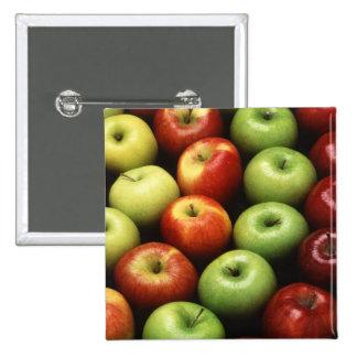 Diversos tipos de manzanas pin