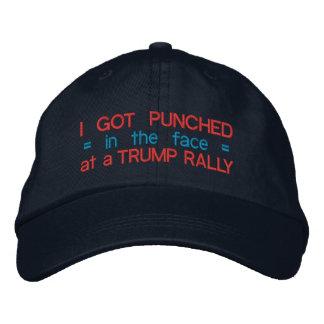Divertido anti de Donald Trump perforado en la Gorras De Beisbol Bordadas