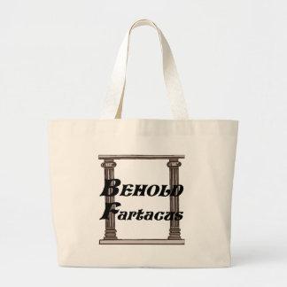 Divertido behold el regalo del fartacus bolsa