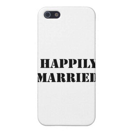 divertido casada iPhone 5 protector