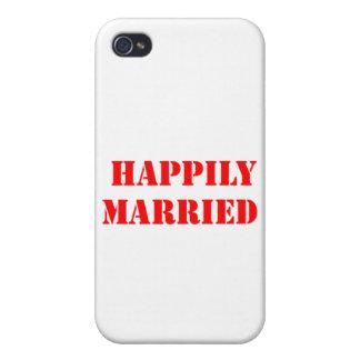 divertido casada iPhone 4 cobertura