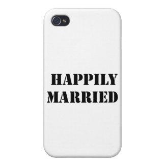 divertido casada iPhone 4 protector