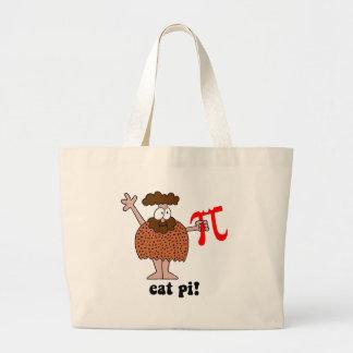 Divertido coma la matemáticas del pi bolsas