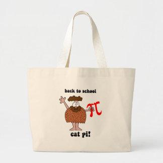 Divertido de nuevo a matemáticas de la escuela bolsa de mano