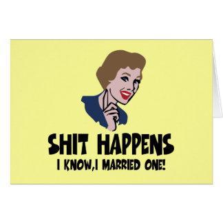 Divertido divorciado tarjeta de felicitación