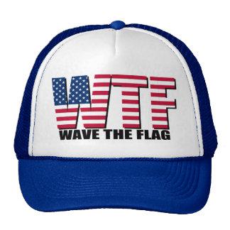 Divertido el 4 de julio onda de WTF la bandera
