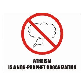 Divertido - el ateísmo es una organización del no- postales