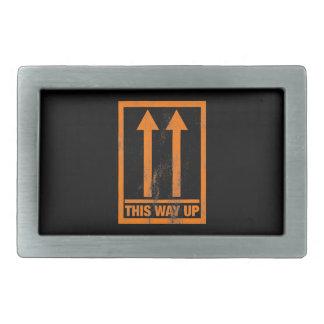 Divertido esta manera encima de la muestra hebilla cinturón rectangular