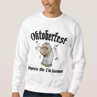 Divertido exprímame que soy alemán Oktoberfest Sudadera