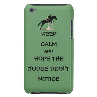 Divertido guarde el caso tranquilo del tacto de iPod Case-Mate cárcasa