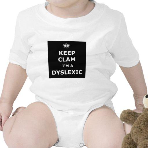 Divertido guarde la calma y continúe trajes de bebé