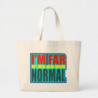 Divertido lejos de los regalos normales de las cam bolsa tela grande
