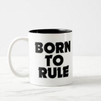 Divertido llevado al regalo de la regla tazas