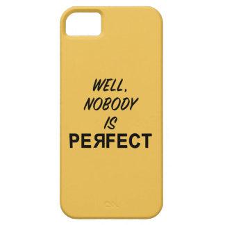 Divertido nadie es regalo perfecto iPhone 5 carcasa
