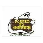 Divertido ninguna muestra de la caza del fantasma postal